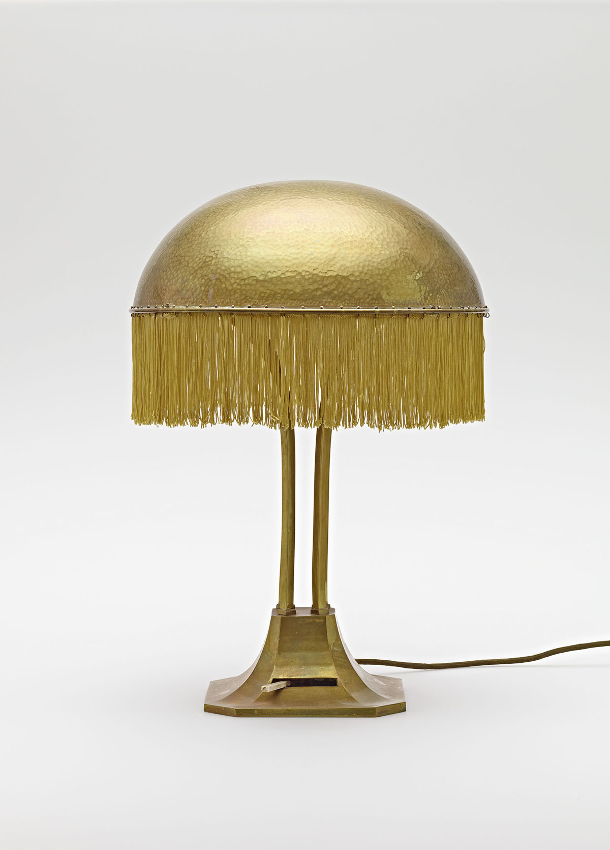 Adolf Loos, Table lamp from the Turnowsky residence, ca. 1900, Hummel collection, Vienna © MAK/Georg Mayer