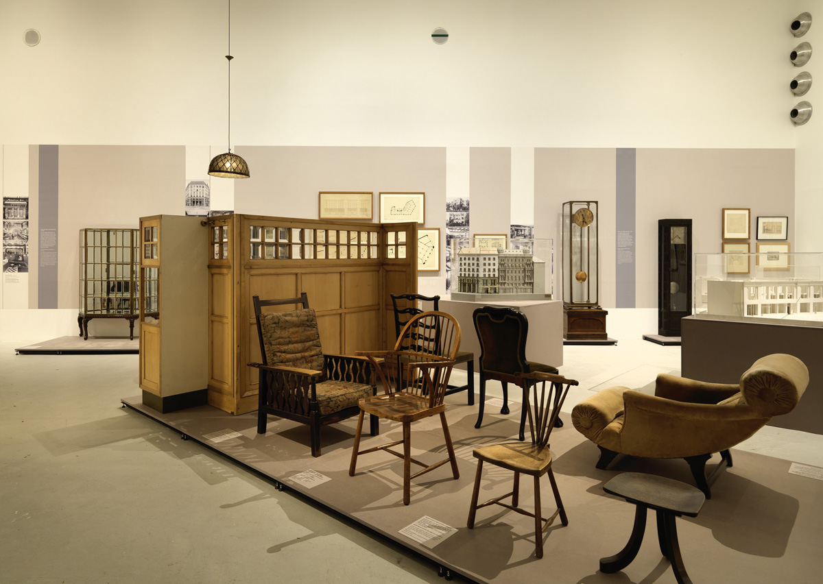 WAYS TO MODERNISM. Josef Hoffmann, Adolf Loos, and Their Impact, MAK Exhibition Hall © Peter Kainz/MAK