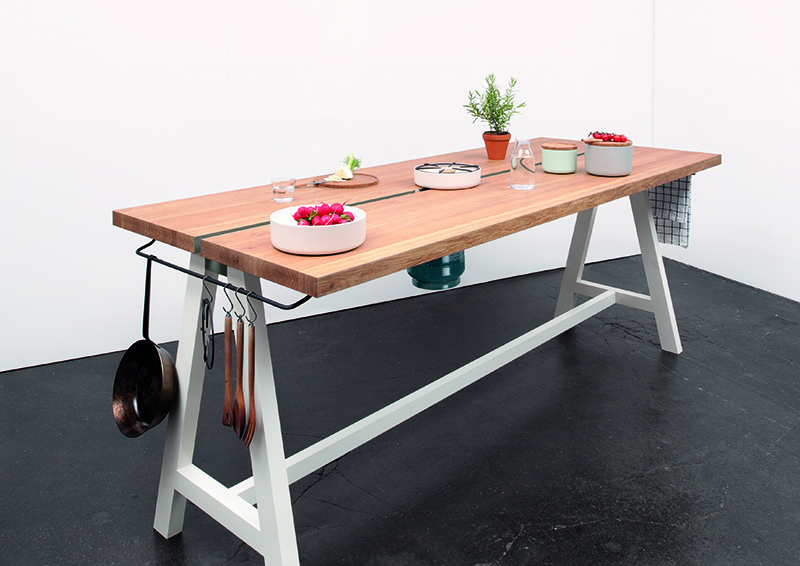 Moritz Putzier, Cooking Table