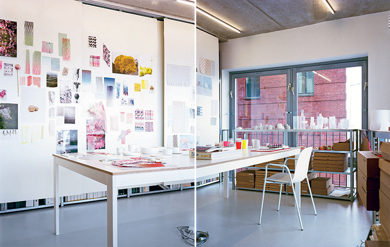 S and B studio ©Scholten & Baijings