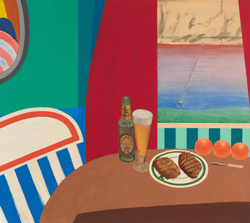 Tom Wesselmann, Still Life #8, 1962