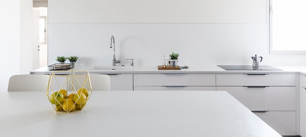 מטבח לבן