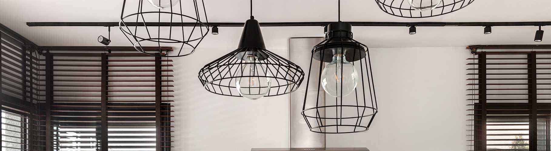 תאורה תלויה מטבח כפרי